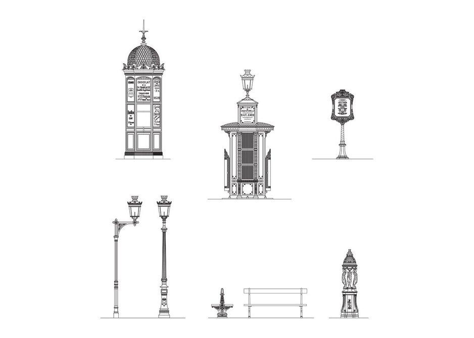Haussmann's Paris: a total solution down to the detail of street furniture.