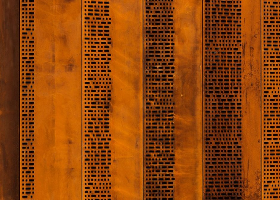 Each panel represents one of IWM'S 100 years.