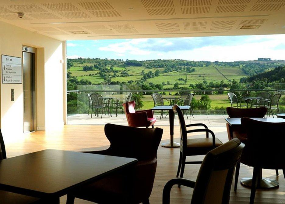 Meadow View café, Darley Dale.