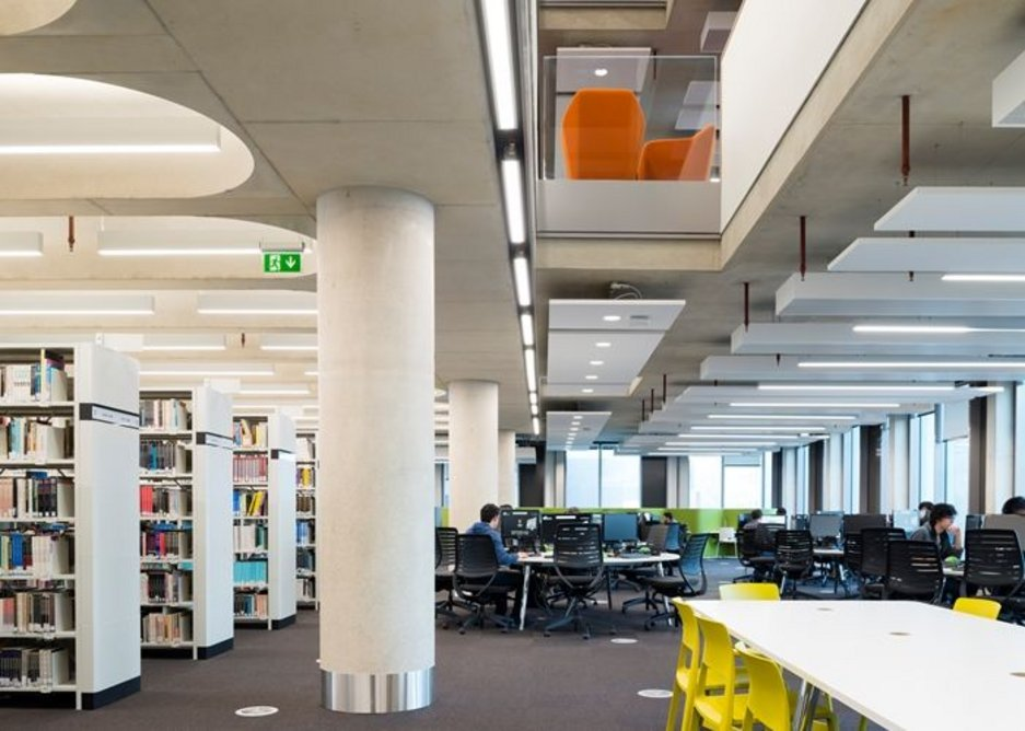 New Library, University of Bedfordshire.