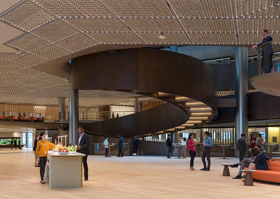 Bloomberg - Sixth floor pantry.