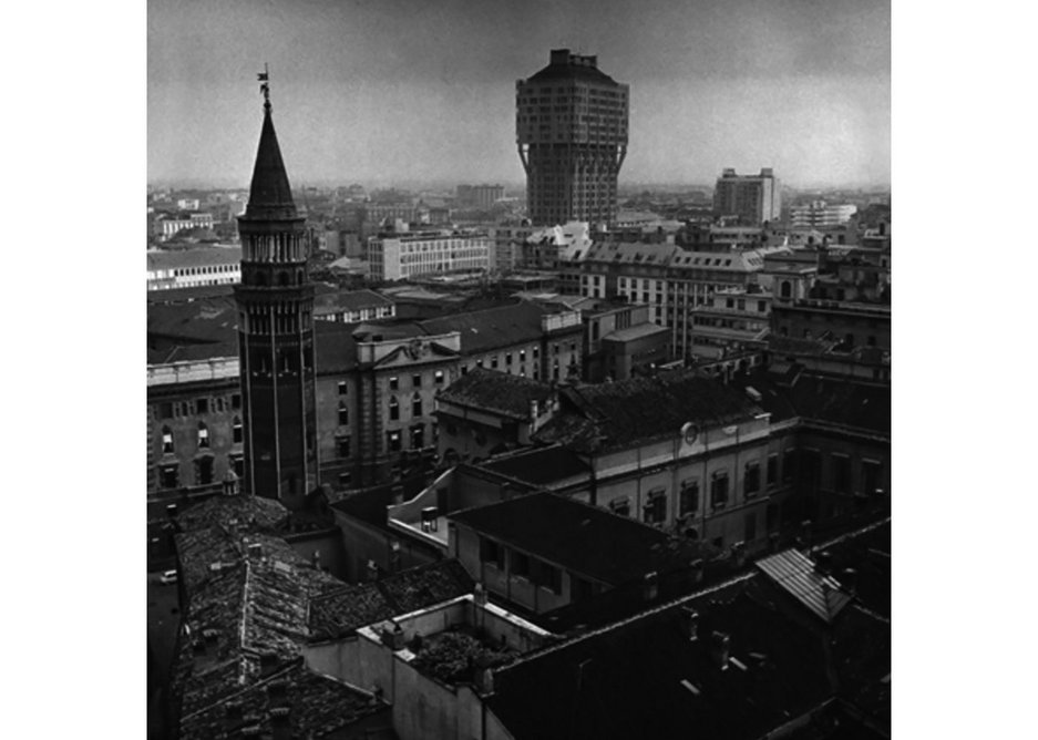 Torre Velasca, Monica Pidgeon.