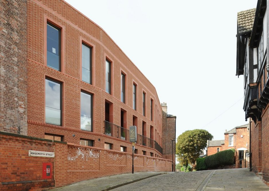 Bailgate Court, Lincoln, East Midlands, Jonathan Hendry Architects.