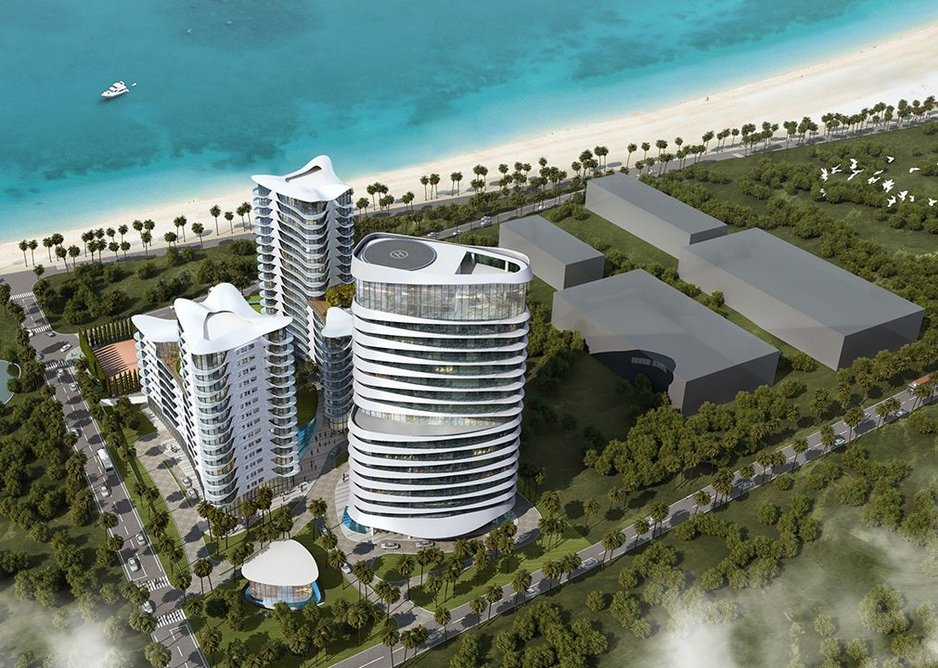 Nigeria promises infrastructure investment yet suffers from corruption. Nevertheless, HOK has designed Atlantic Resort, Victoria Island for Lagos.