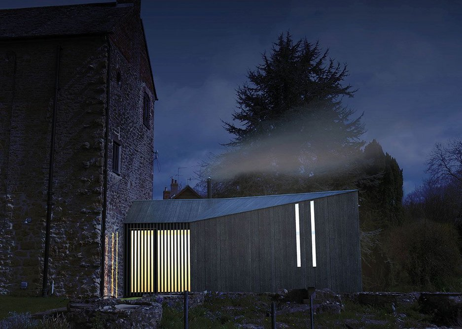 Chan's shortlisted solo entry for an Artist's Shed for Hauser & Wirth in Bruton.
