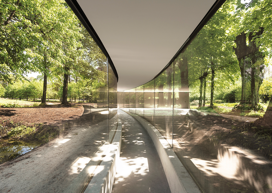 I am Groot: the Vijversburg visitor centre follows its same old paths.
