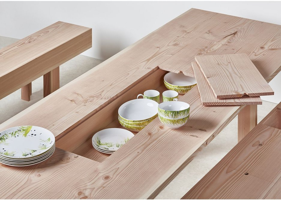 Planks Collection by Max Lamb and Benchmark, Production Made Winner 2016.