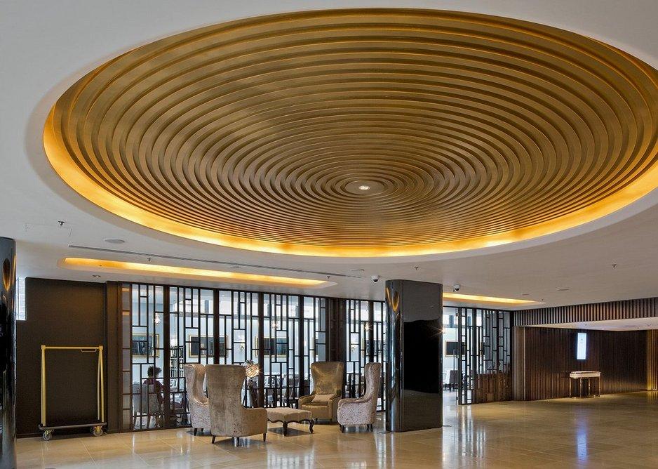 Dorsett Shepherds Bush hotel lobby