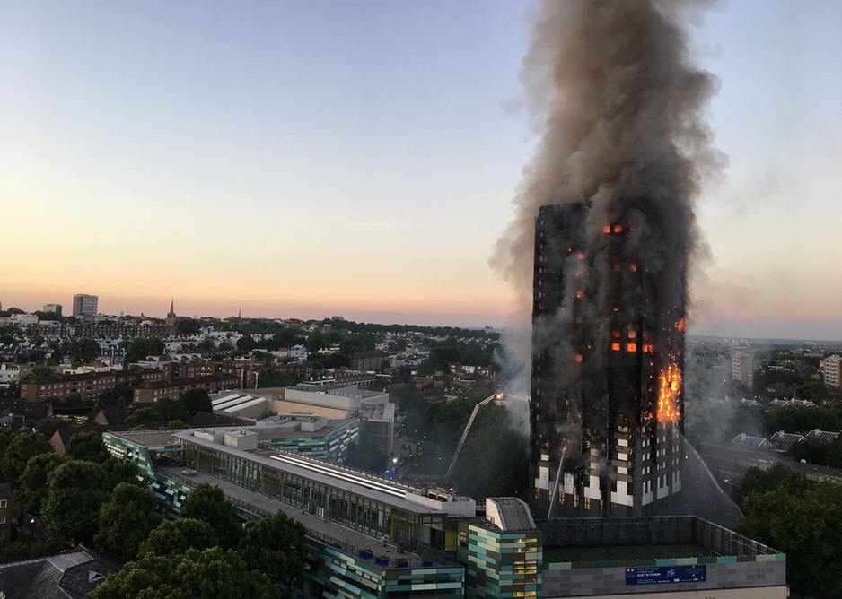 Eilidh Allan brought together housing inequity and the Grenfell Tower fire. Commended Natalie Oxford via Wikimedia Commons