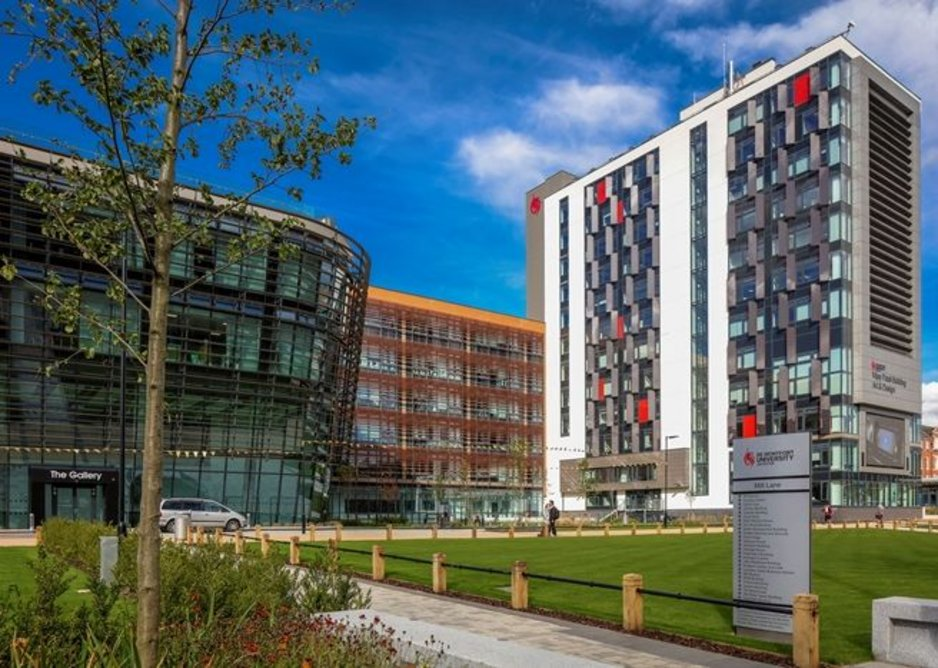 Vijay Patel Building, De Montfort University, Leicester.