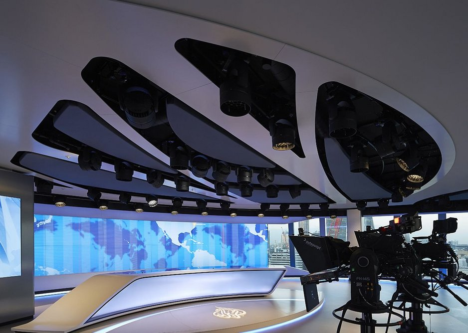 With the treatment of film TV cameras are no longer afraid of light in the studio