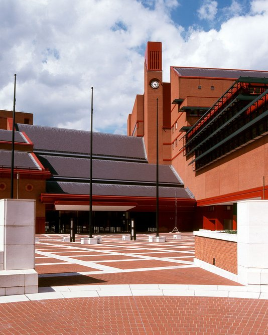Brian Frost designed the clock on Colin St John Wilson & Partners' British Library