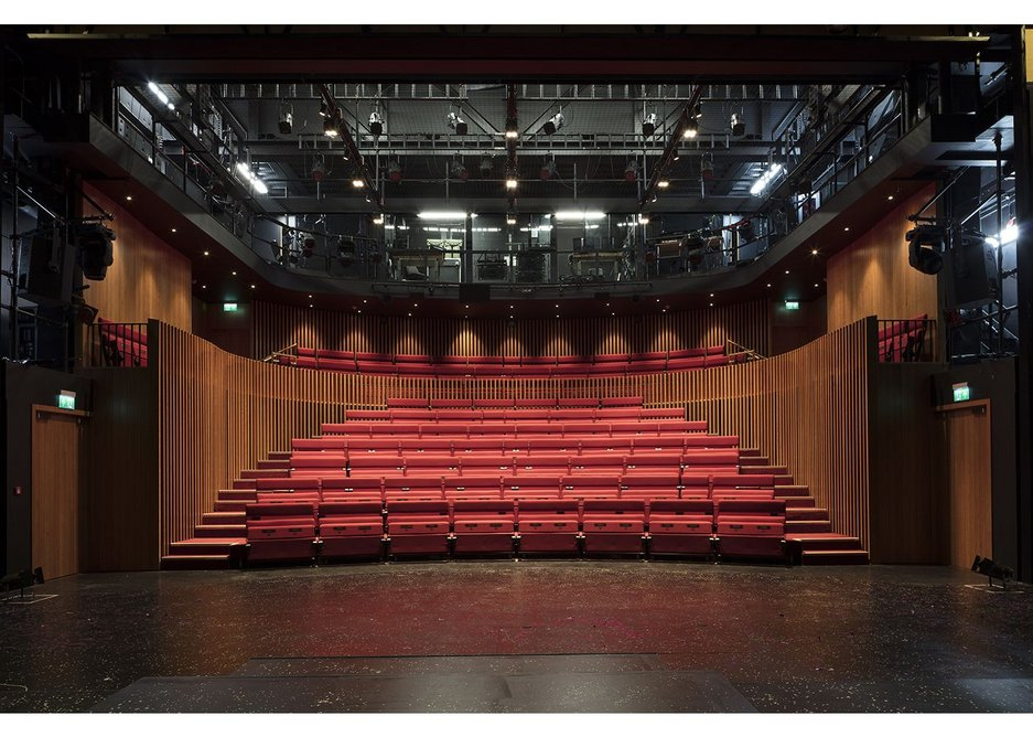 Minimal, but a real theatre.