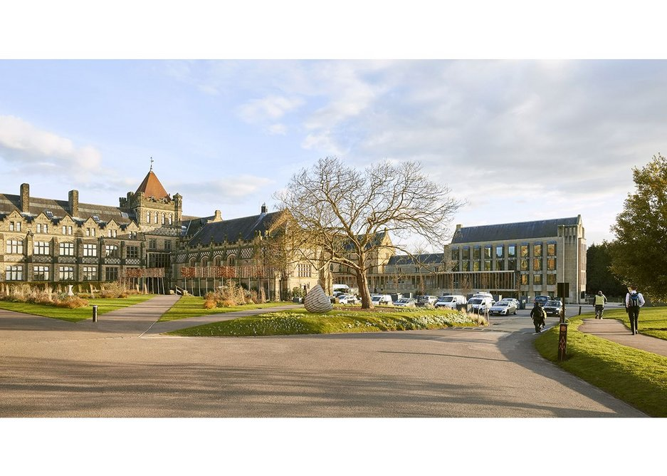 Tonbridge School's architecture encompasses everything from neo-gothic to modernist.