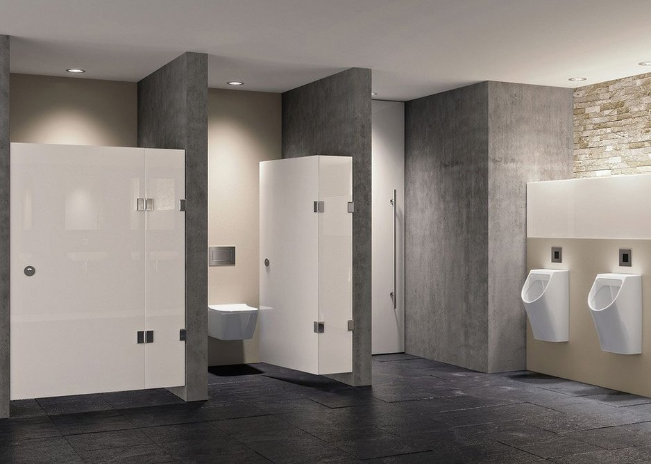 Hygienically optimised products make for reassuringly clean workplace washrooms.
