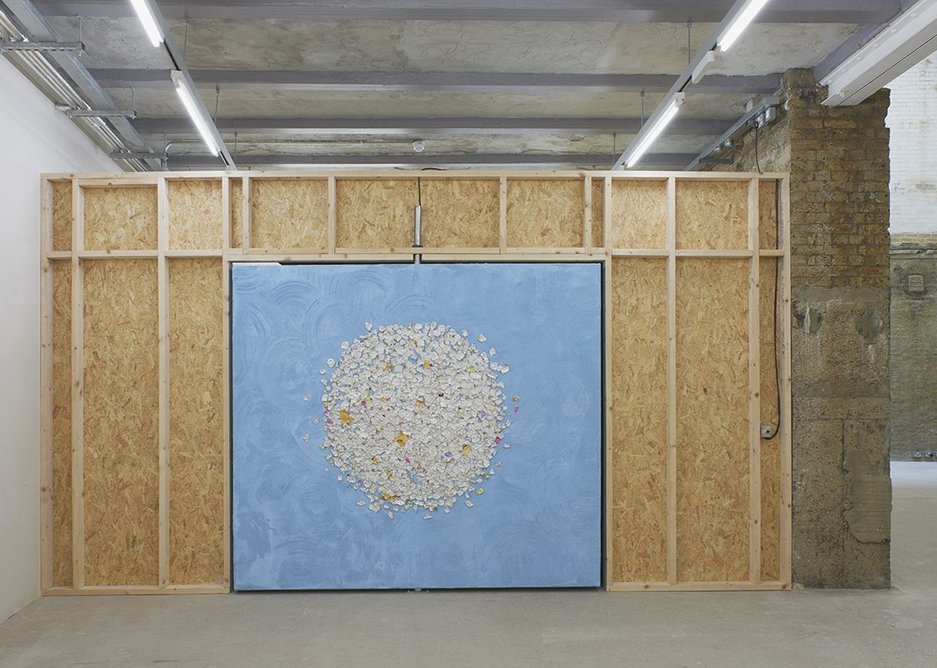 Installation view, Mika Rottenberg, showing until 4 November 2018.