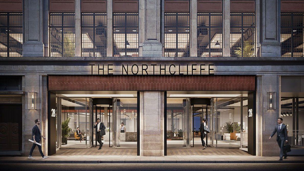 Northcliffe House, entrance.