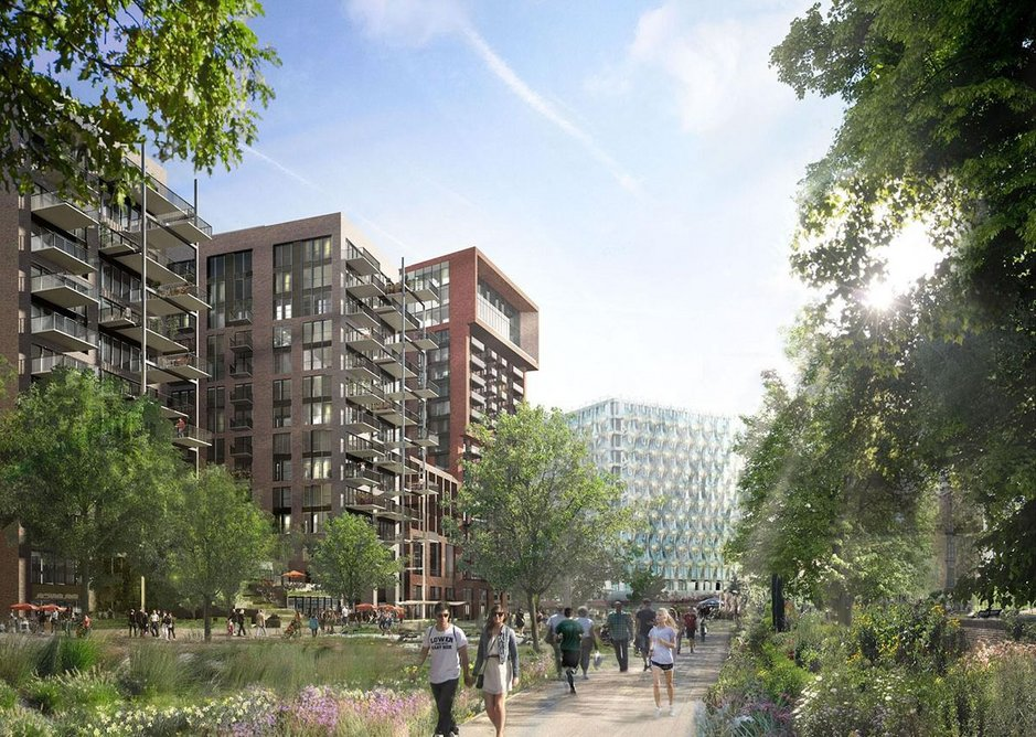 Embassy Gardens by developers Ballymore.