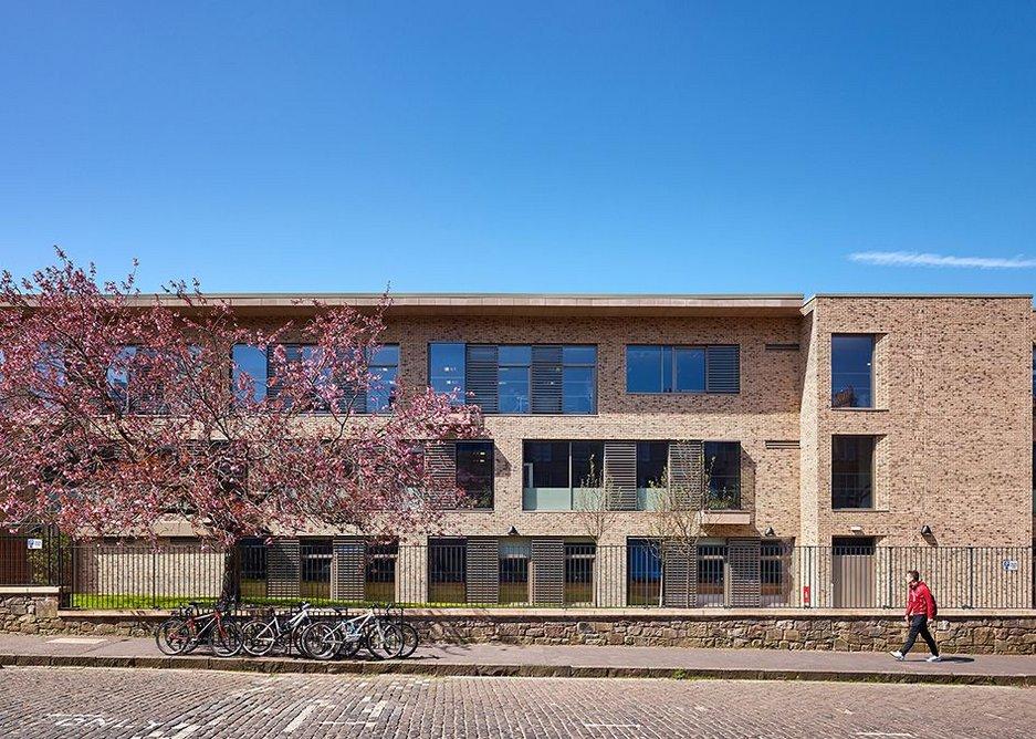 James Gillespie's Campus elevation, jmarchitects.