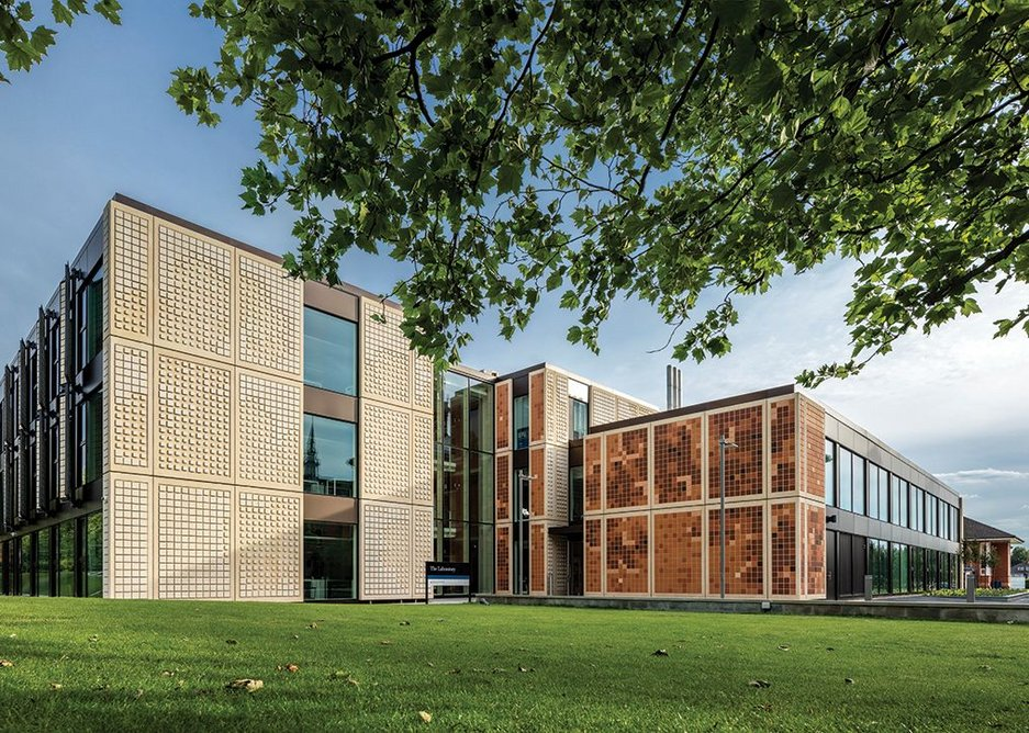 Dulwich College laboratory, London, United Kingdom.