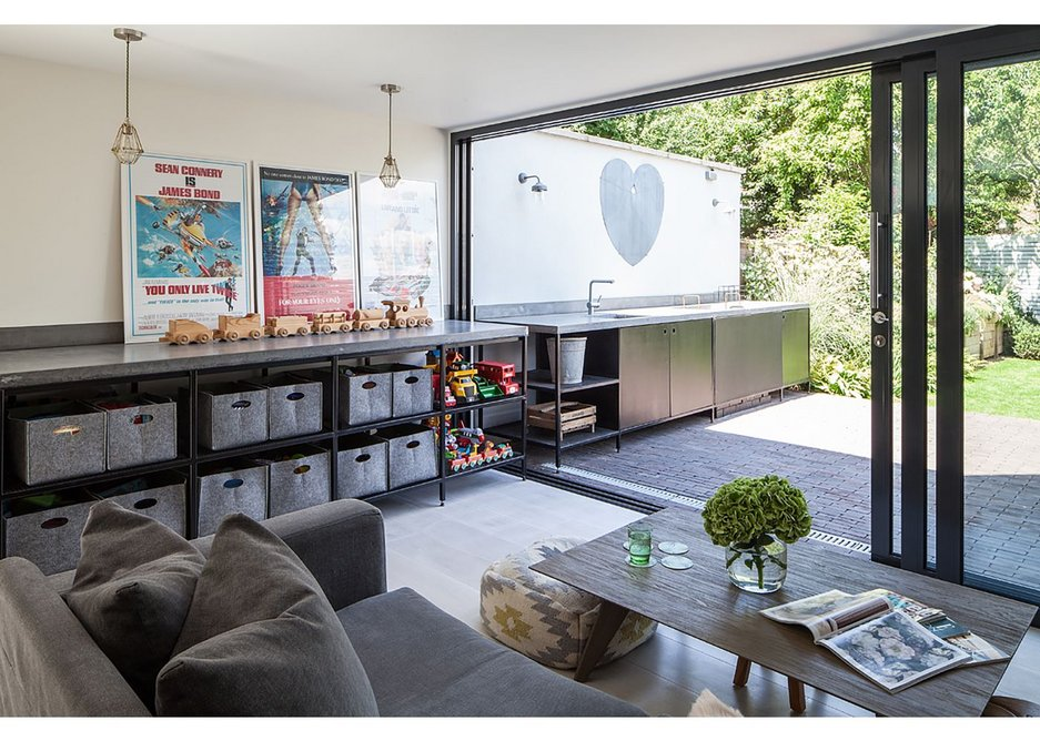 Trevor Brown Architects' house extension in Haringey, London.