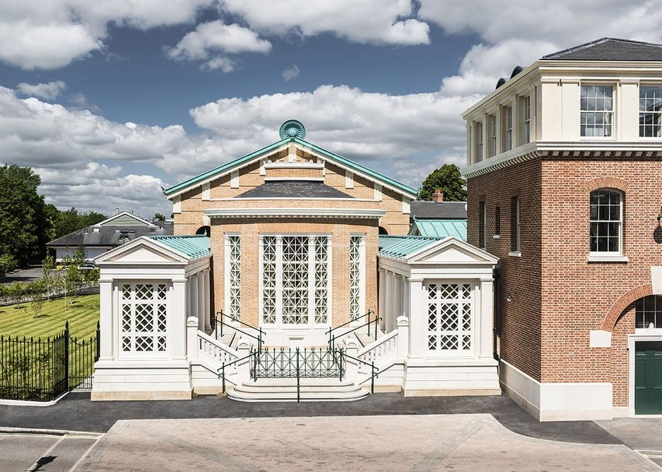 CRAFTSMANSHIP AWARD: Jafar Gallery and Jafar Hall, Eton College by John Simpson Architects