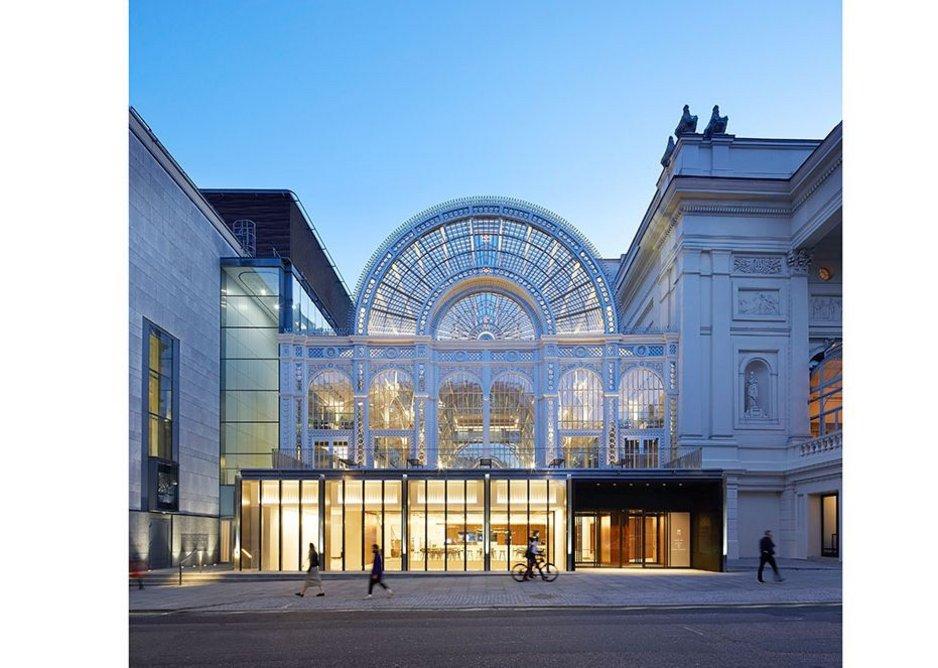 RIBA Regional Awards 2019 London West. Royal Opera House. Stanton Williams for the Royal Opera House.
