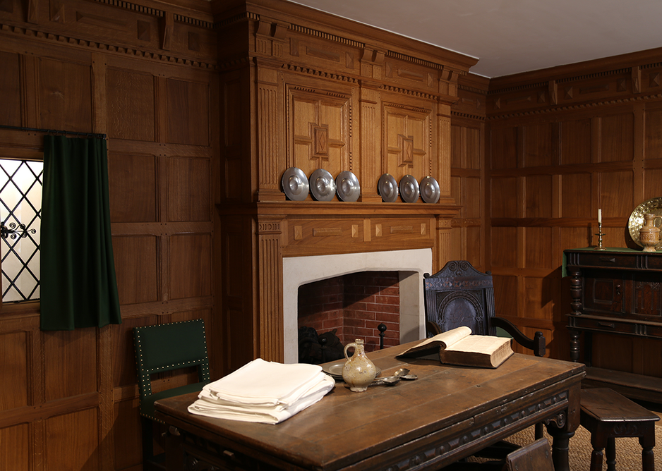 The Stuart Period Room from the 1630s. Courtesy of the Museum of the Home