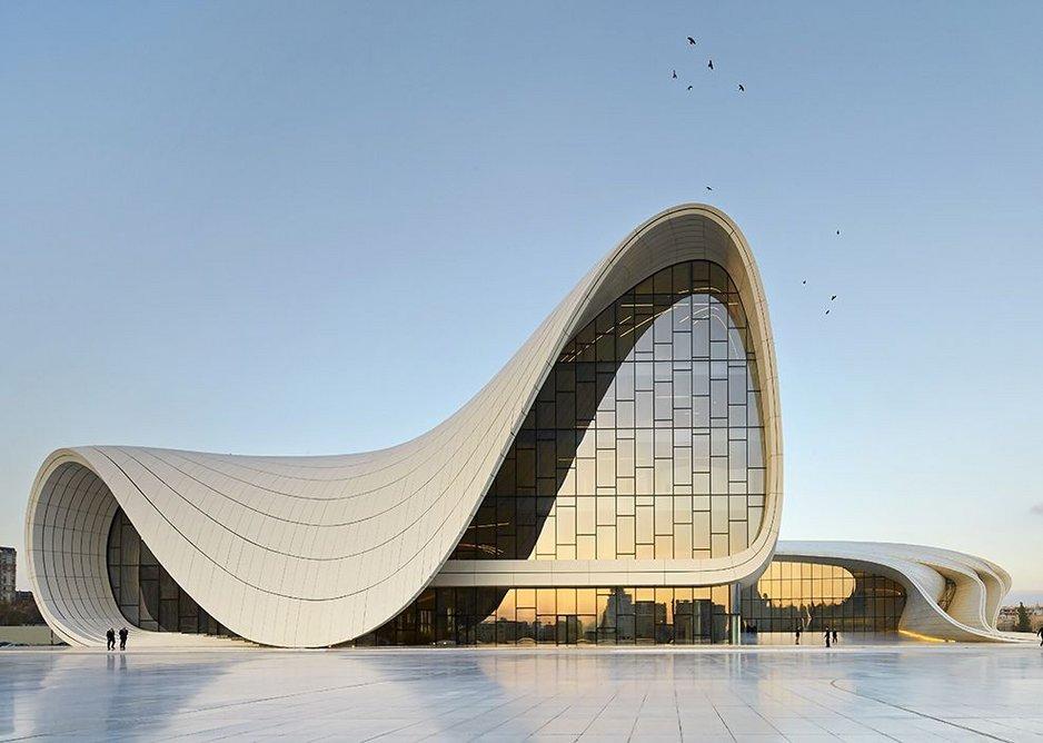 Heydar Aliyev Center, Baku, Azerbaijan.
