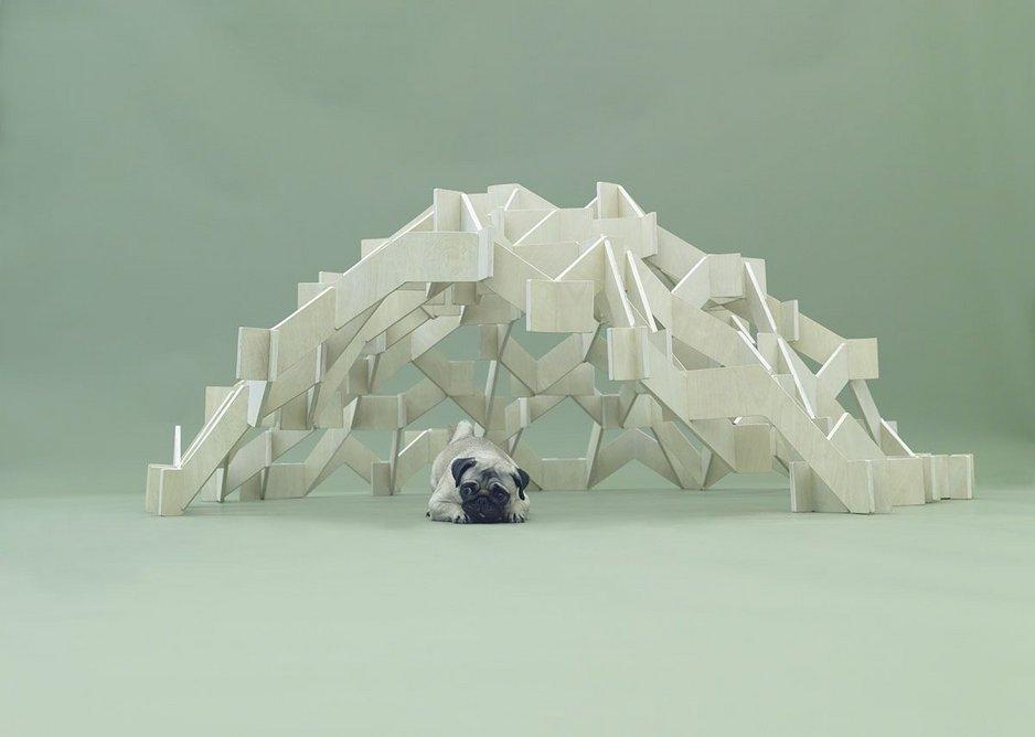 Mount Pug by Kengo Kuma for Pug.