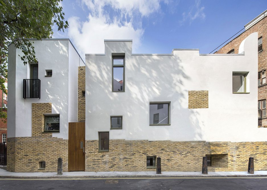Mount Pleasant Homeless Hostel by Peter Barber Architects