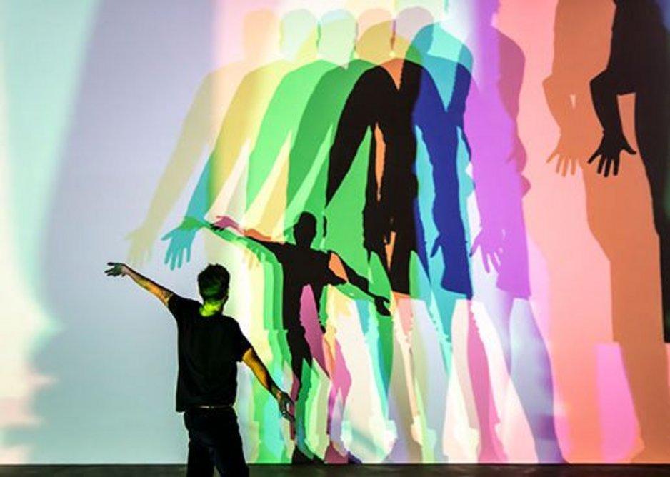 Your uncertain shadow (colour), 2010. Thyssen-Bornemisza Art Contemporary Collection, Vienna. Photo: Maria del Pilar Garcia Ayensa/Studio Olafur Eliasson. Courtesy of the artist, neugerriemschneider, Berlin; Tanya Bonakdar Gallery, New York/Los Angeles.