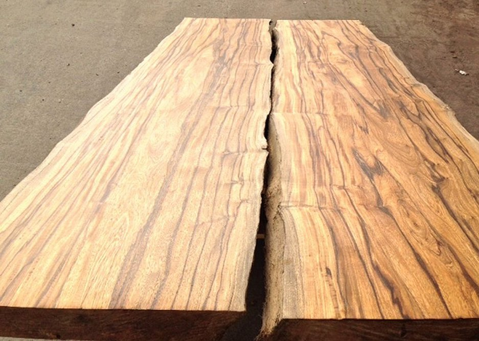 Being old trees,  the timber can be supplied in large widths