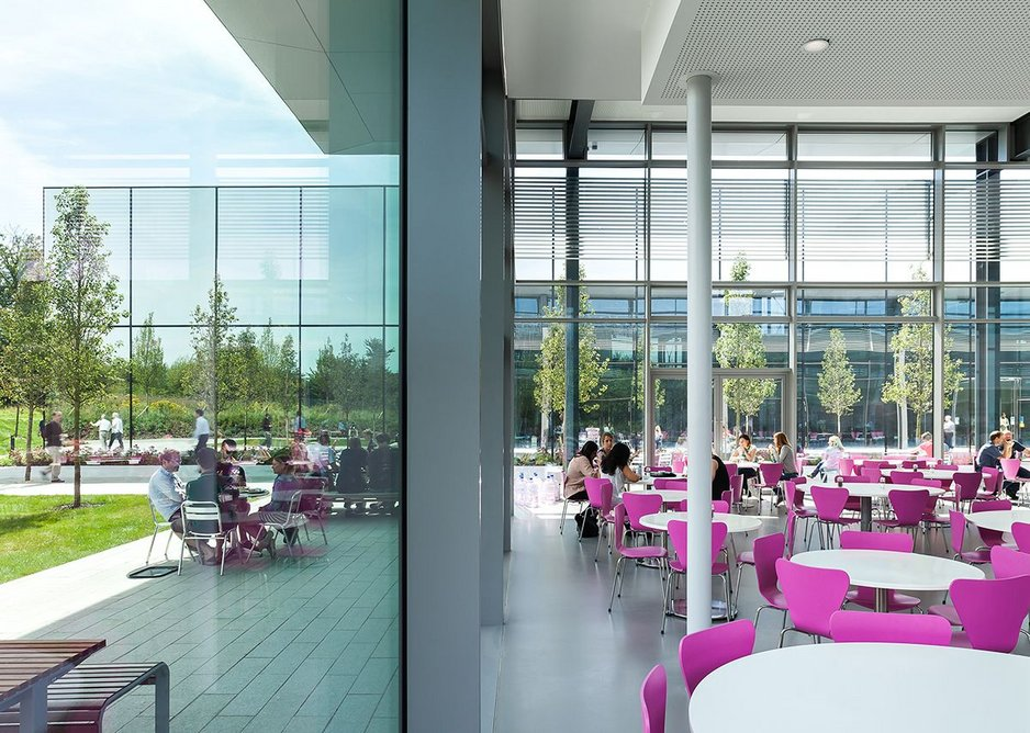 Dyson Campus expansion, Malmesbury by WilkinsonEyre