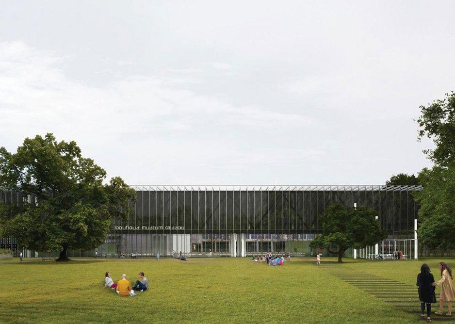 Winning design for the Bauhaus Museum Dessau, designed by Gonzalez Hinz Zabala, Barcelona, 2016