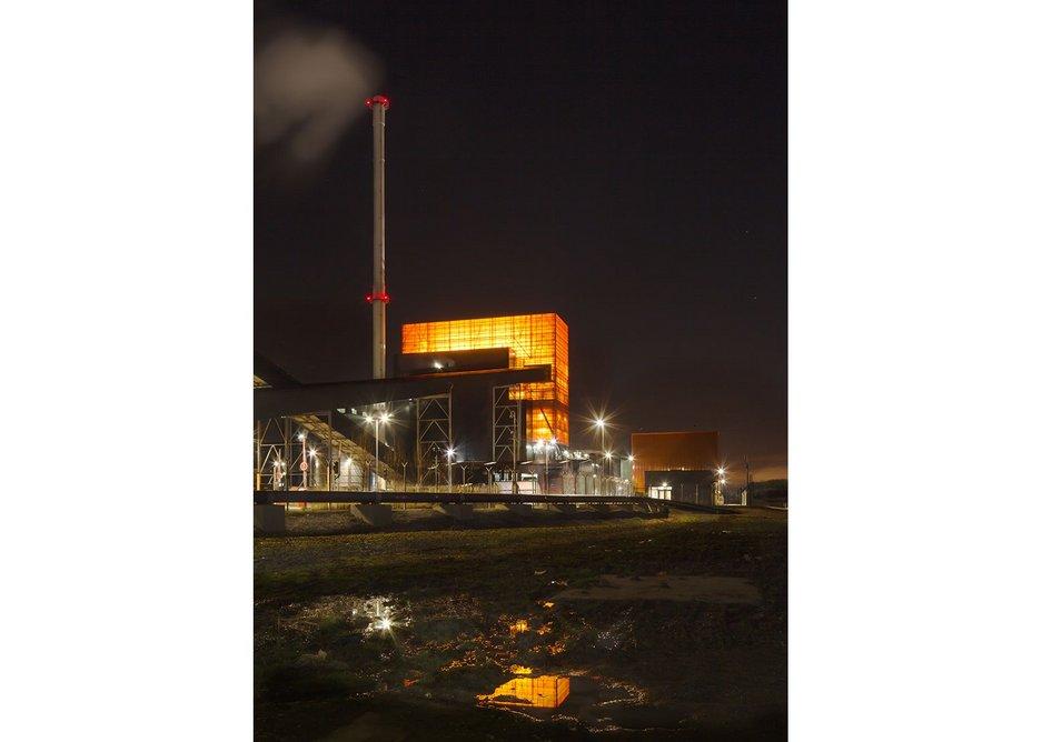 Blackburn Meadows Biomass plant Sheffield by BDP with Race Cottam Associates.