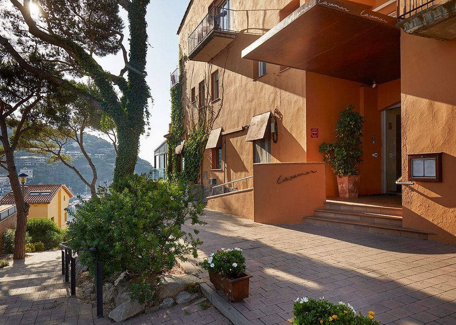 Culinary heights: Hotel Casamar sits in the hills above Llafranc bay in Girona, Catalonia.