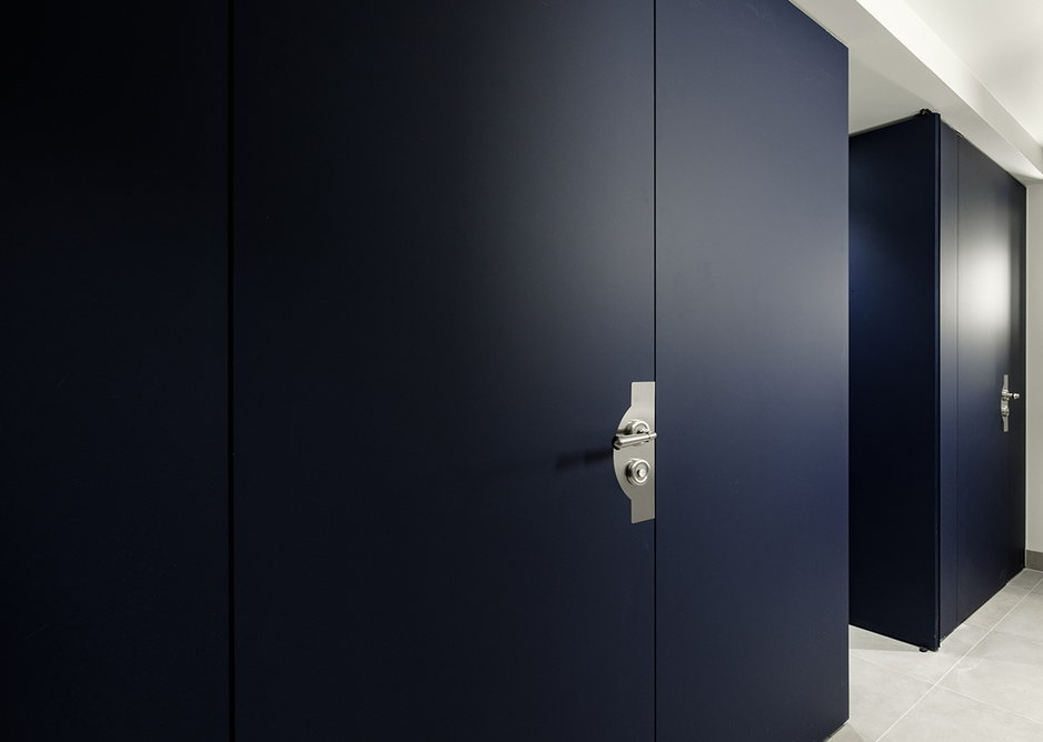 Cubicles made from Fenix laminate have anti-bacterial properties built in.