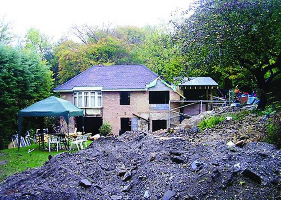 Building 'adaptation' requires significant material changes to the house to increase its efficiency.
