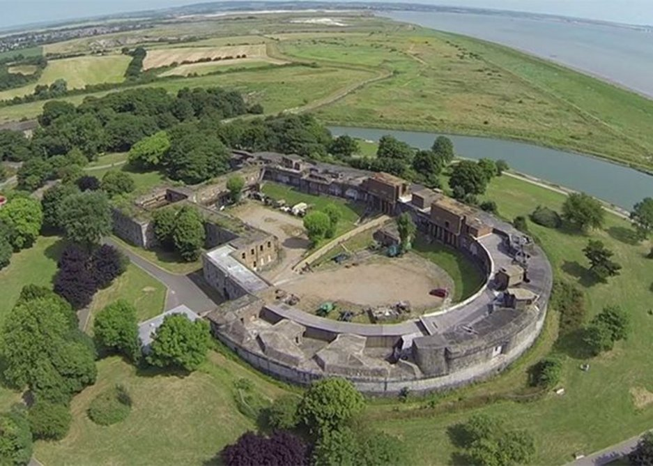 Coalhouse Fort, C19th artillery fort and venue of the festival's Fort Film Night.