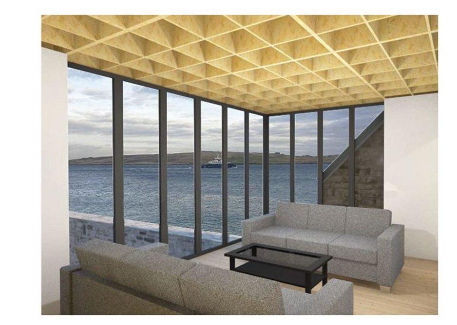 Interior visualisation.
