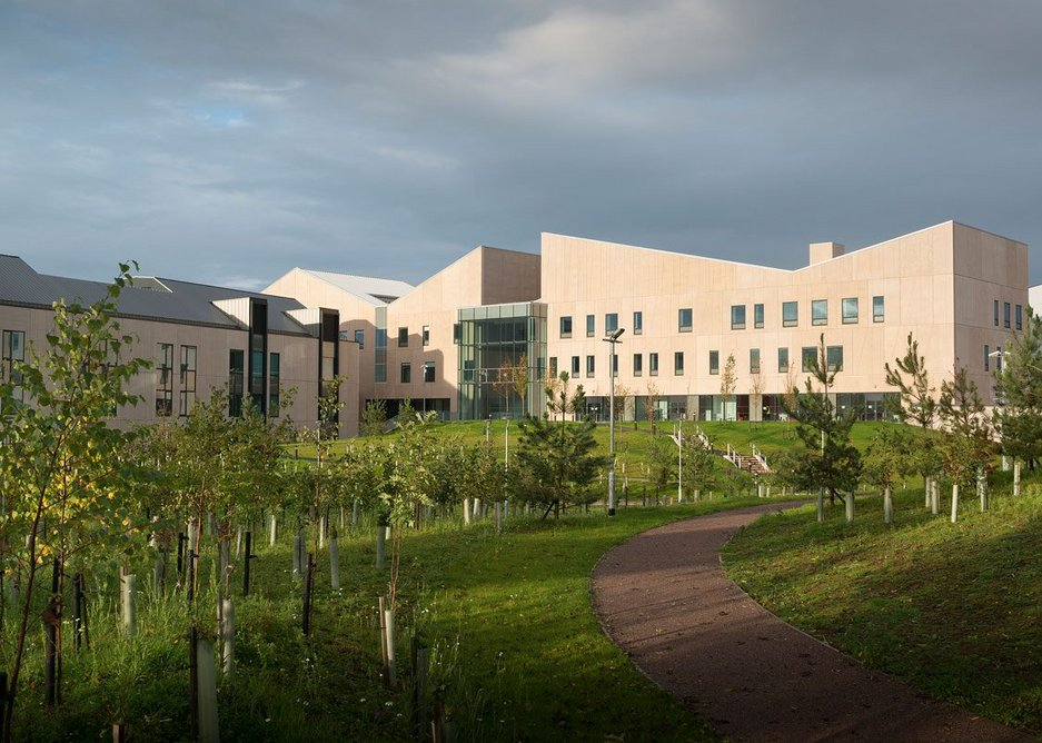 Ryder and NBBJ's Dumfries and Galloway Royal Infirmary used MMC to be delivered ahead of programme.