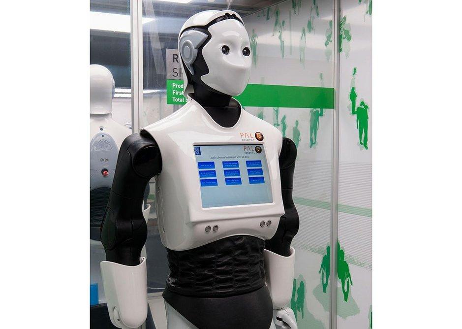 REEM Service Robot.