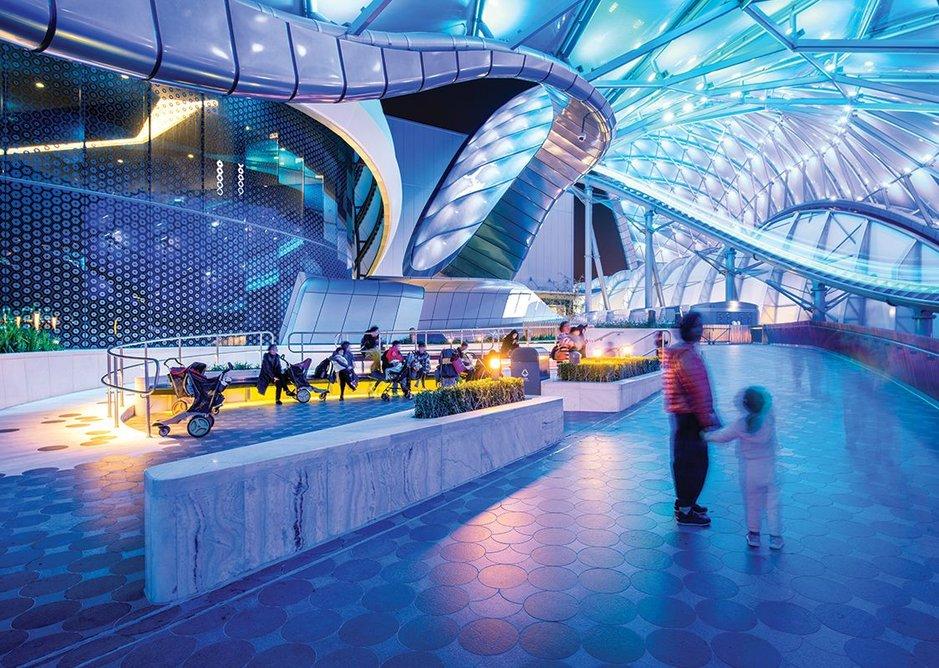 2016: Disney Tomorrowland, Shanghai, China.