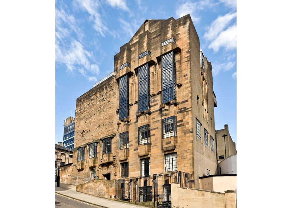 Maverick AND genius - Charles Rennie Mackintosh's Glasgow School of Art.