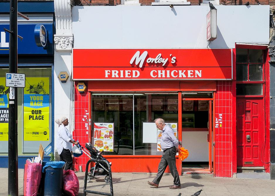 The original Morley's on Sydenham Road, Lewisham.