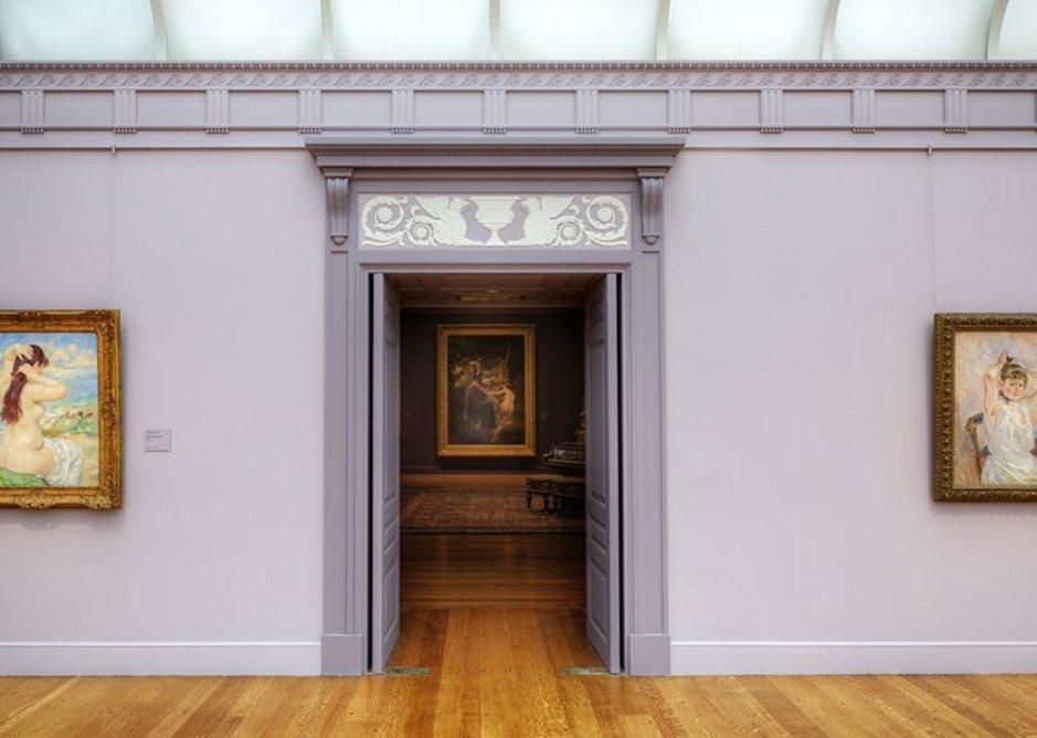 Clark Museum Building renovated galleries.
