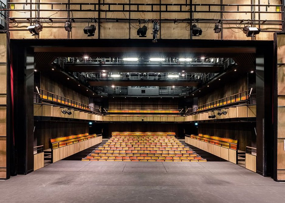 The stage and auditorium are state of the art.