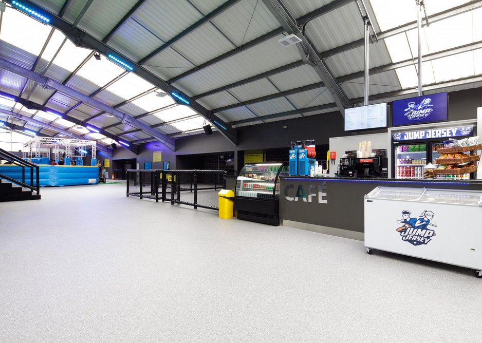 Gerflor's GTI Max flooring is fast to fit so there is no need to close a venue during installation.