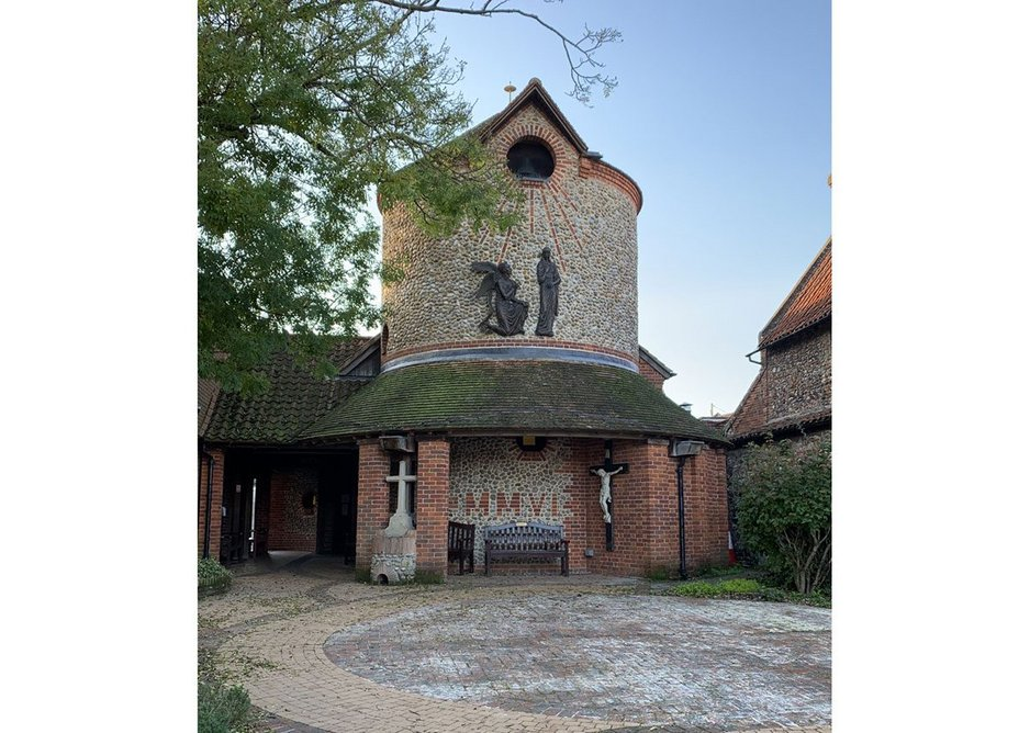 Church of the Annunciation Walsingham by Anthony Rossi. Credit Rossi family